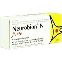 Abbildung von Neurobion N Forte  Tabletten