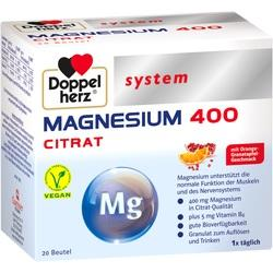 Abbildung von Doppelherz Magnesium 400 Citrat System  Granulat