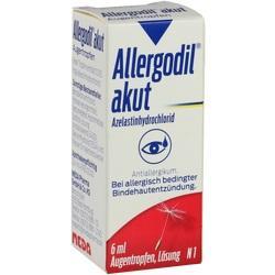 Abbildung von Allergodil Akut Augentropfen