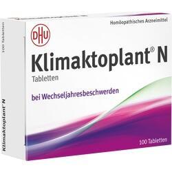 Abbildung von Klimaktoplant N  Tabletten