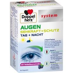 Abbildung von Doppelherz Augen Sehkraft+schutz System  Kapseln
