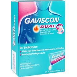 Abbildung von Gaviscon Dual 500mg 213mg 325mg  Suspension