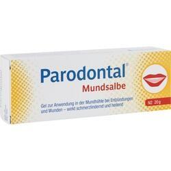 Abbildung von Parodontal Mundsalbe  Gel