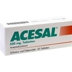 Abbildung von Acesal  Tabletten