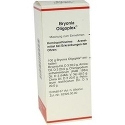 Abbildung von Bryonia Oligoplex  Liquidum