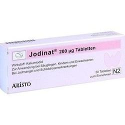 Abbildung von Jodinat 200ug Tabletten
