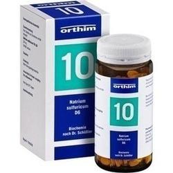 Abbildung von Biochemie Orthim Nr10 Natrium Sulfuricum D 6  Tabletten