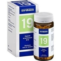 Abbildung von Biochemie Orthim Nr19 Cuprum Arsenicosum D12  Tabletten