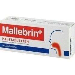 Abbildung von Mallebrin Halstabletten