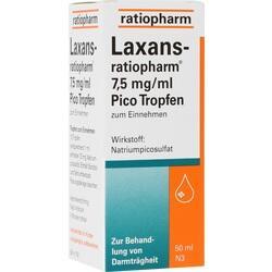 Abbildung von Laxans-ratiopharm 7.5mg Ml Pico Tropfen