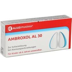Abbildung von Ambroxol Al 30  Tabletten