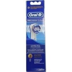 Abbildung von Oral-b Aufsteckbürsten Precision Clean 2er  Zahnbürste