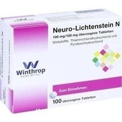 Abbildung von Neuro Lichtenstein N  Dragees