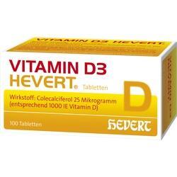 Abbildung von Vitamin D 3 Hevert  Tabletten