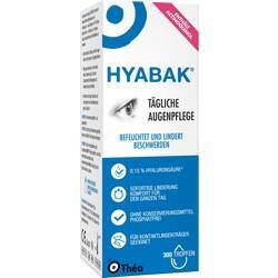 Abbildung von Hyabak  Augentropfen