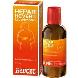 Abbildung von Hepar-hevert Lebertropfen