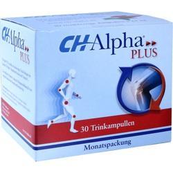 Abbildung von Ch-alpha Plus  Trinkampullen