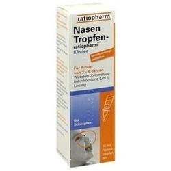 Abbildung von Nasentropfen-ratiopharm Kinder Konservier.frei