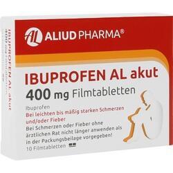 Abbildung von Ibuprofen Al Akut 400mg Filmtabletten