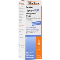 Abbildung von Nasenspray Pur-ratiopharm Plus  Nasendosierspray