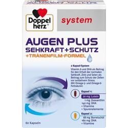 Abbildung von Doppelherz Augen Plus Sehkraft+schutz System  Kapseln