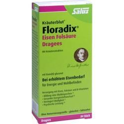 Abbildung von Floradix Eisen Folsäure Dragees