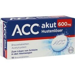 Abbildung von Acc Akut 600  Brausetabletten