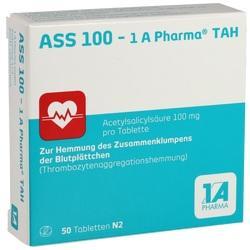 Abbildung von Ass 100 - 1 A Pharma Tah  Tabletten