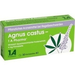 Abbildung von Agnus Castus - 1 A Pharma  Filmtabletten