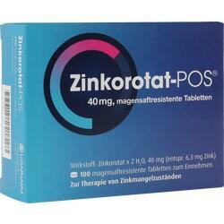 Abbildung von Zinkorotat Pos  Tabletten