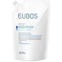 Abbildung von Eubos Fluessig Blau Nachfuell Beutel  Flüssigkeit