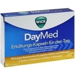 Abbildung von Wick Daymed Erkältungskapseln 552114  Hkp