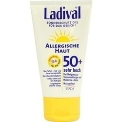 Abbildung von Ladival Allergische Haut Gesicht Lsf50+  Gel