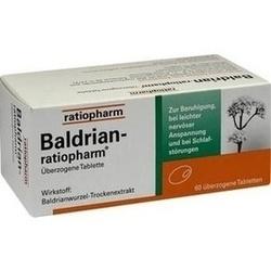 Abbildung von Baldrian-ratiopharm  Tabletten