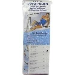 Abbildung von Dusch Folien Bein Kurz 90cm