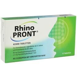 Abbildung von Rhinopront Kombitabletten