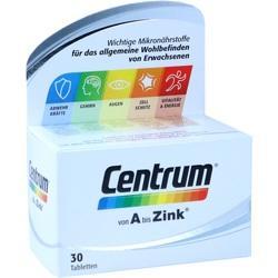 Abbildung von Centrum A-zink + Floraglo Lutein Capletten  Tabletten
