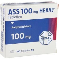 Abbildung von Ass 100 Hexal  Tabletten