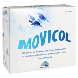 Abbildung von Movicol Beutel  Ple