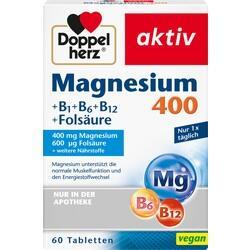 Abbildung von Doppelherz Magnesium 400mg Tabl.  Tabletten