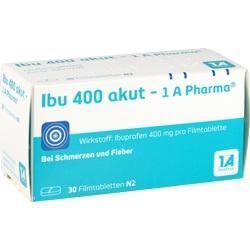 Abbildung von Ibu 400 Akut - 1a-pharma  Filmtabletten