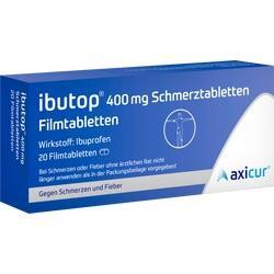 Abbildung von Ibutop 400mg Schmerztabletten  Filmtabletten