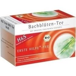 Abbildung von H&s Bachblüten Erste-hilfe-tee  Filterbeutel