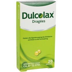 Abbildung von Dulcolax Dragees  Tabletten