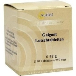 Abbildung von Galgant-lutschtabletten Aurica