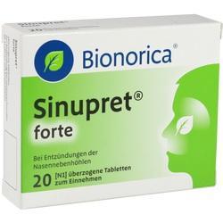 Abbildung von Sinupret Forte Dragees  Tabletten