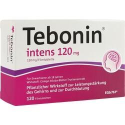Abbildung von Tebonin Intens 120mg  Filmtabletten