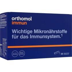 Abbildung von Orthomol Immun Direktgranulat Himbeer-menthol