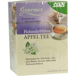 Abbildung von Holunderblüten Apfel Tee Salus  Tee