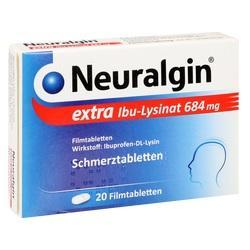 Abbildung von Neuralgin Extra Ibu-lysinat  Filmtabletten